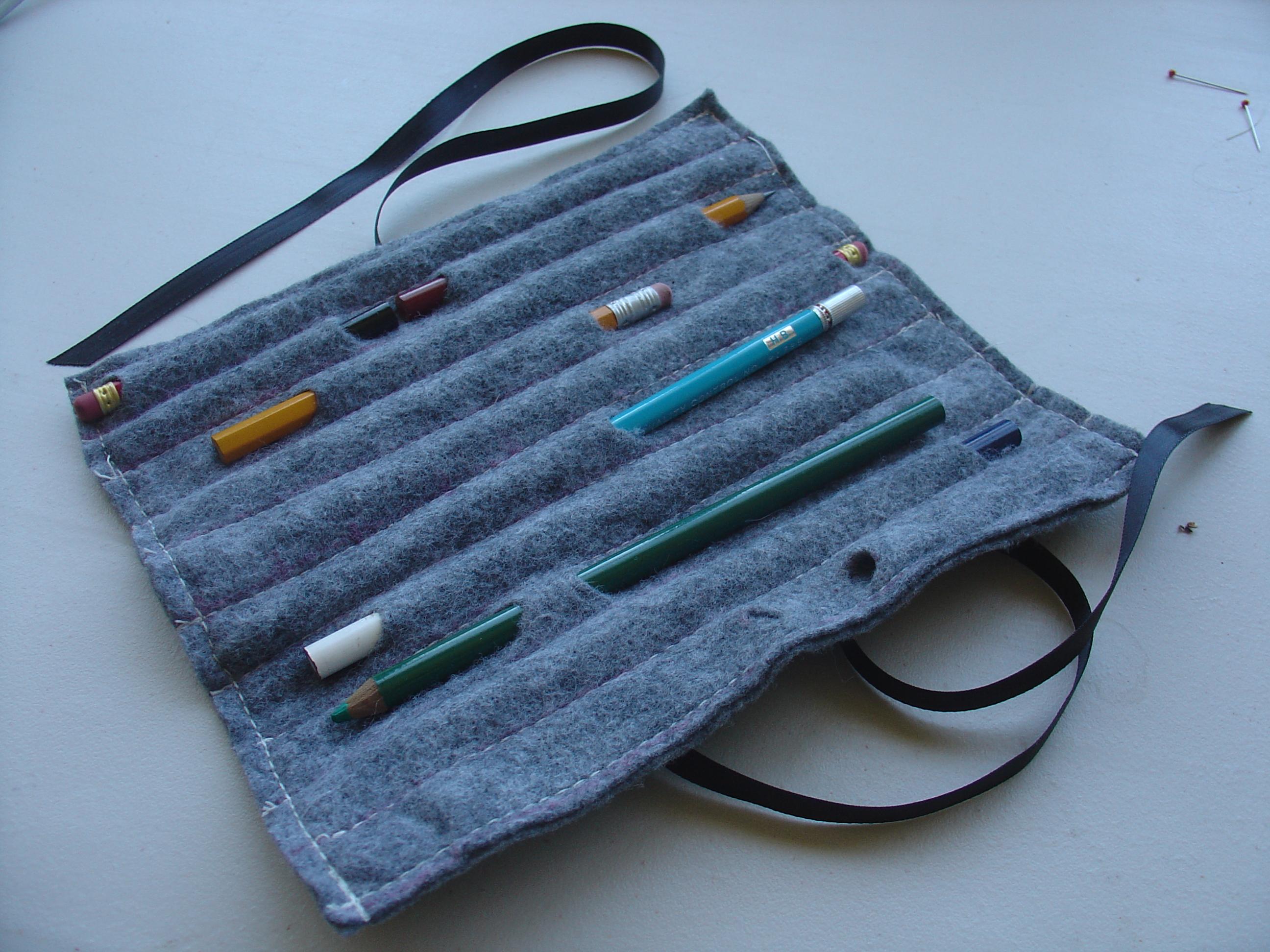 Felt Pencil Stub Case