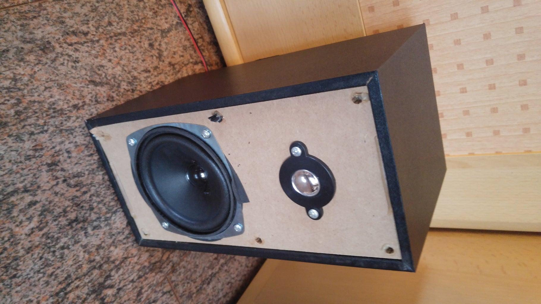 Speaker Disassembling