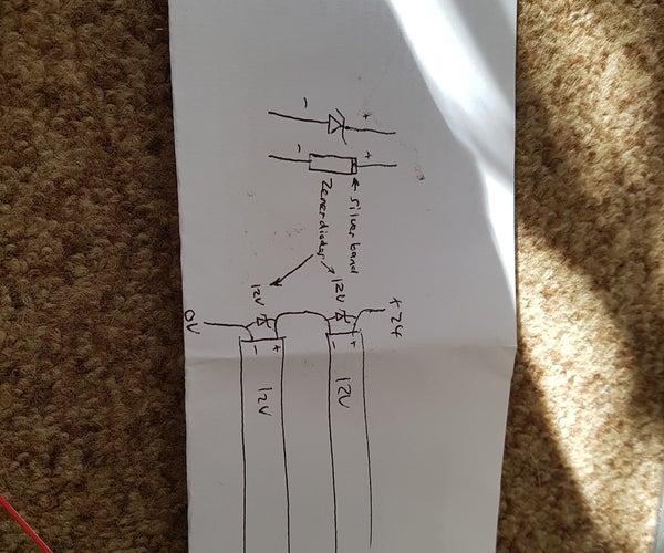 Replacing 24v Laser Cutter Led Strip