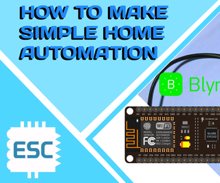 HOW TO MAKE a SIMPLE IOT HOME AUTOMATION