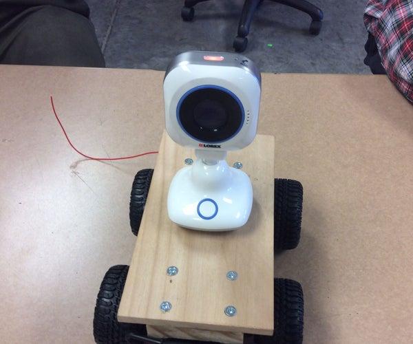 Surveillance/Audio and Video RC Car