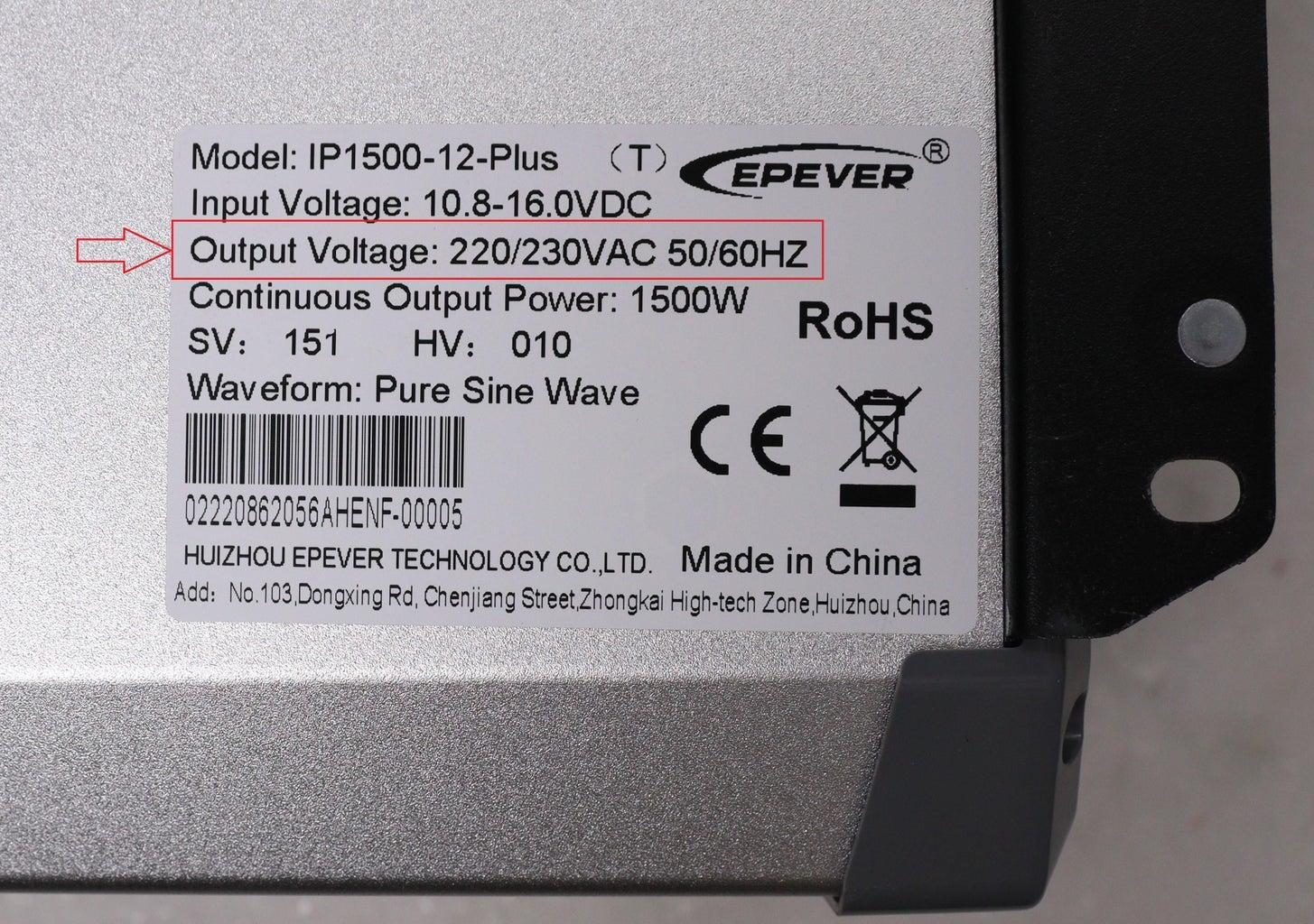 Inverter Voltage & Frequency