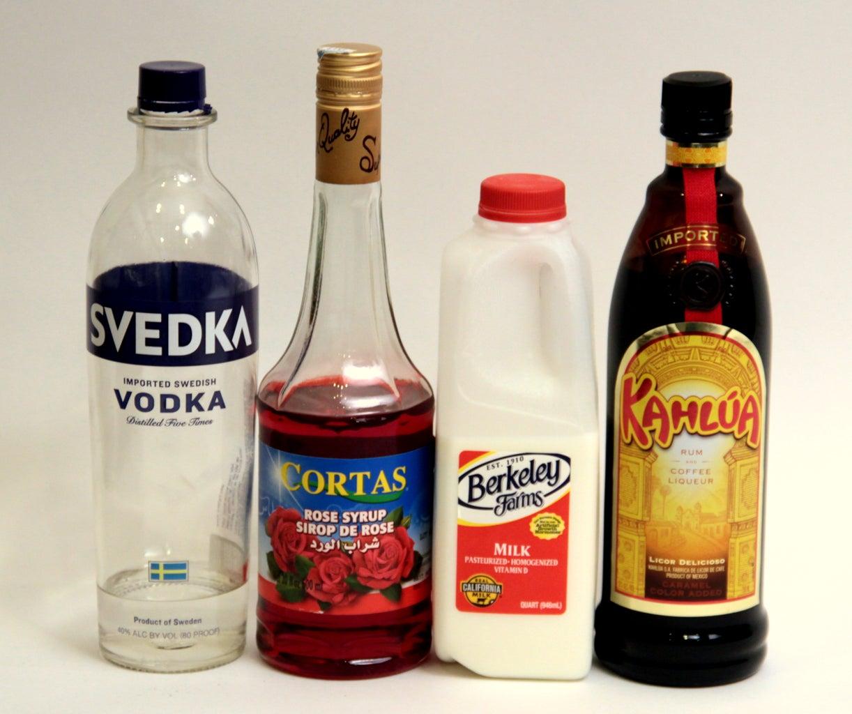 Rose Milk Russian