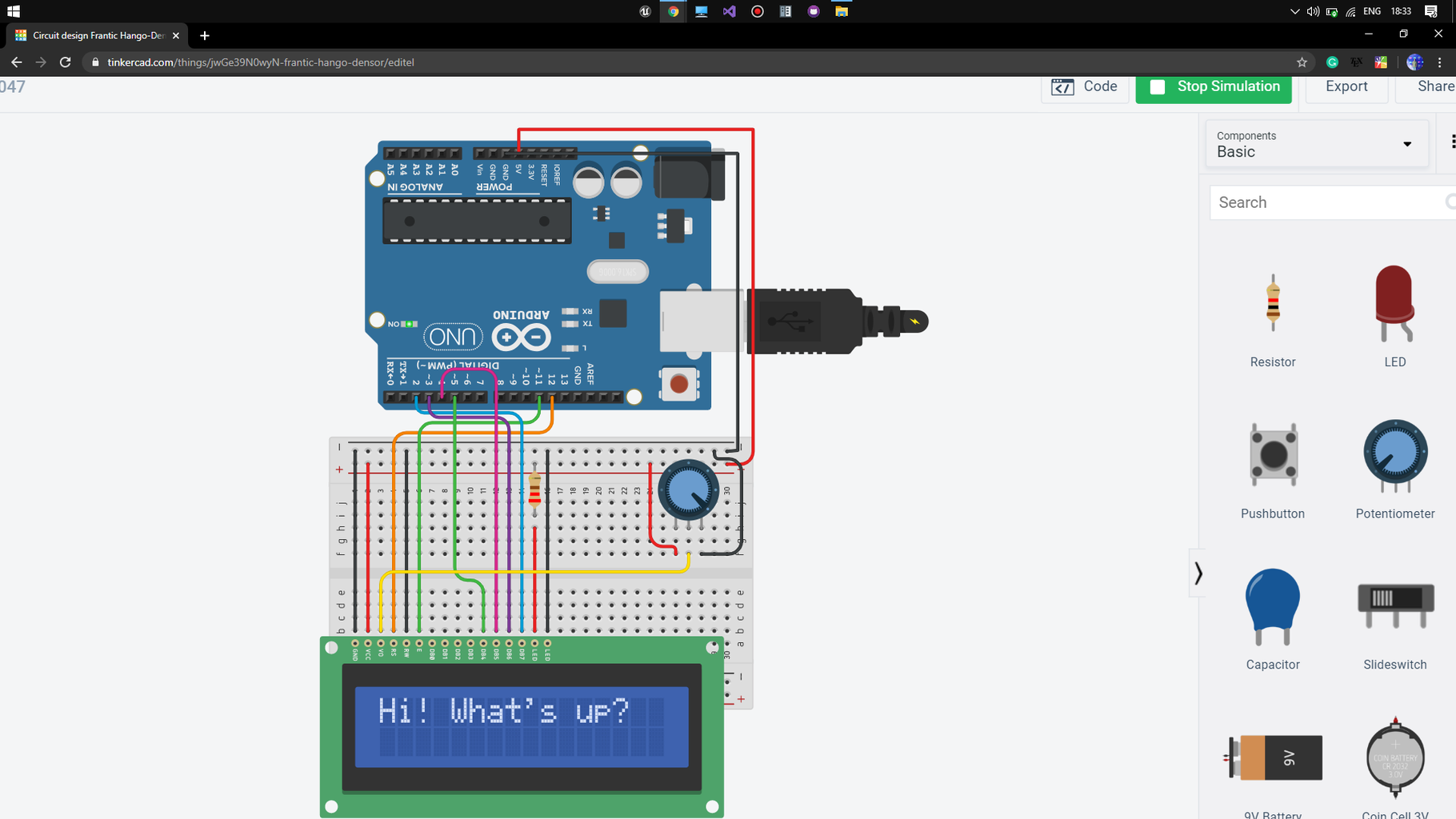 Working With LCD(Arduino)