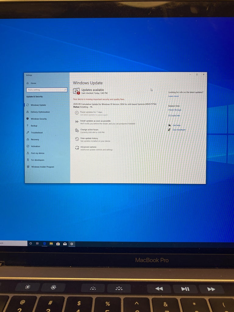 Updates on the Windows Software