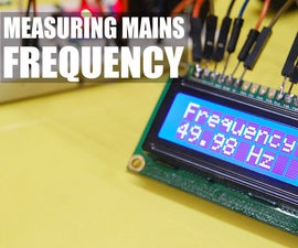 Measure Mains Frequency Using Arduino