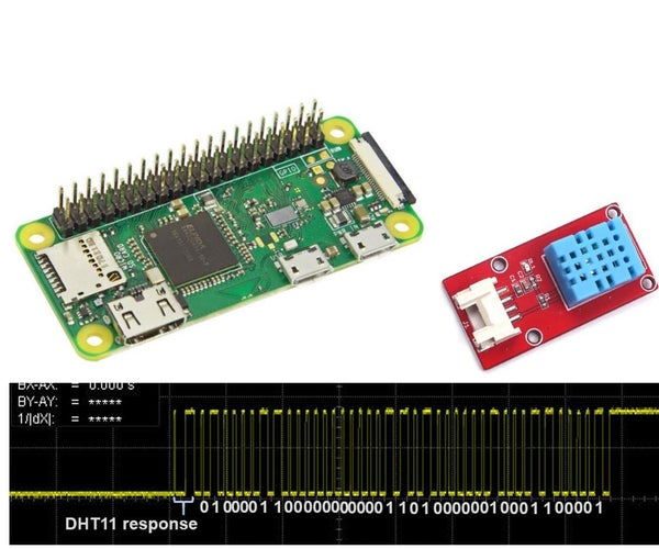 DHT11 Library and Usage for Raspberry Pi