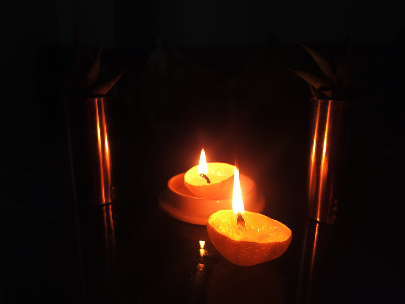 Ignite the Wick and Your Homemade 'organic Aroma Lamp' Is Ready to Spread a Magical Fragrance