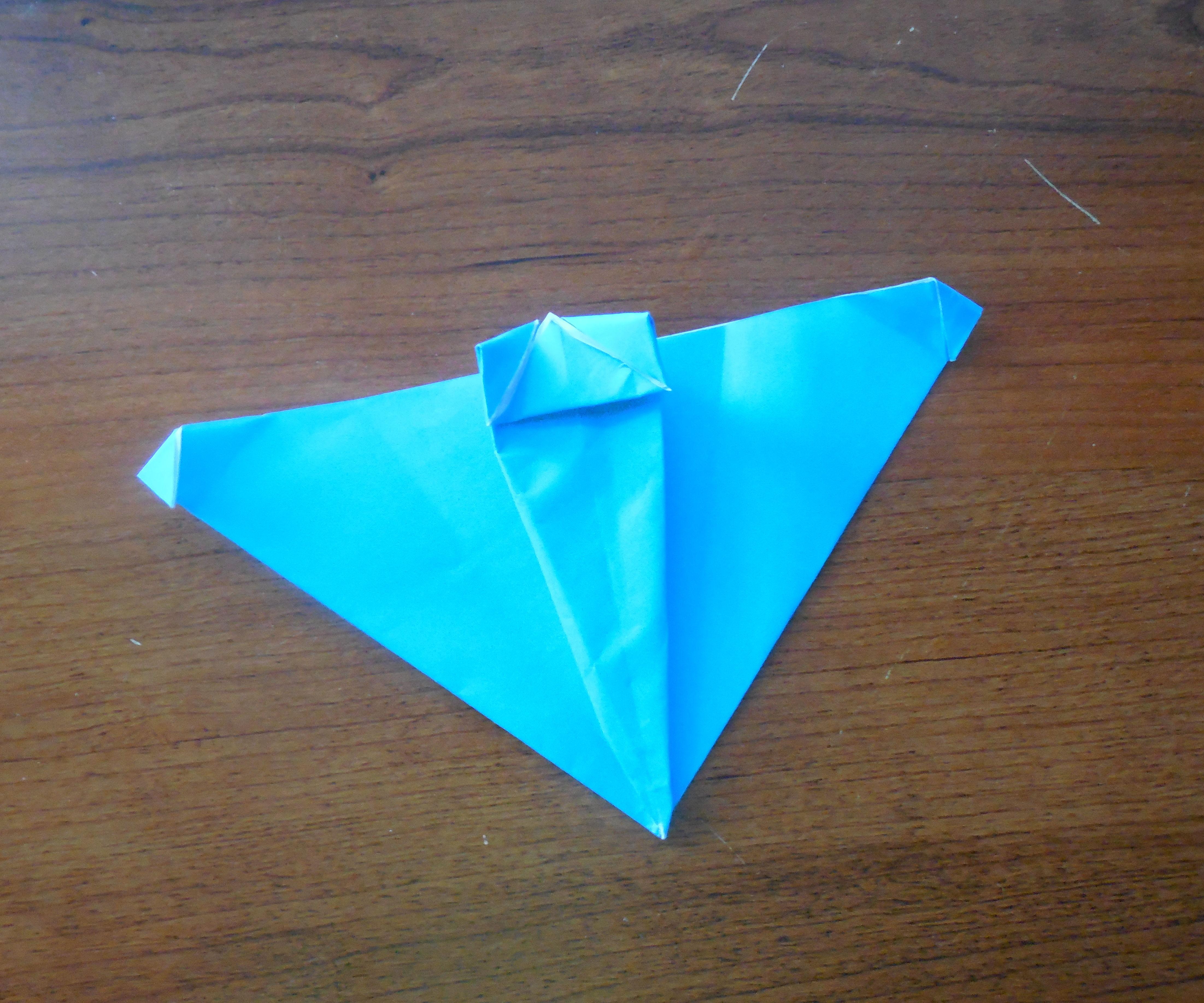 Origami Spaceship (Easy)