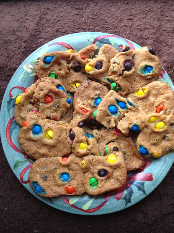 Chocolate Chip/M&M Cookies!!