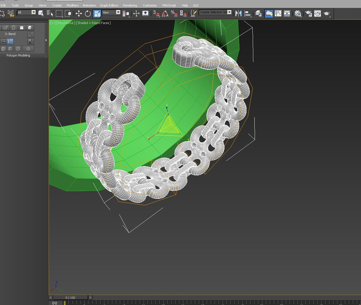 3d Modeling: Creating the Cuff