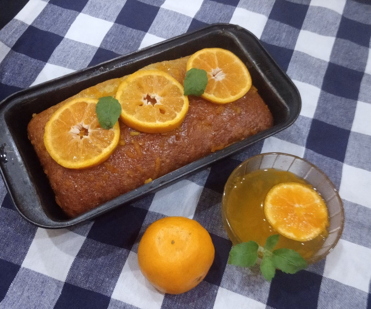 Zesty Orange Loaf Cake