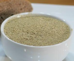 如何处理橡子并制作橡子面粉