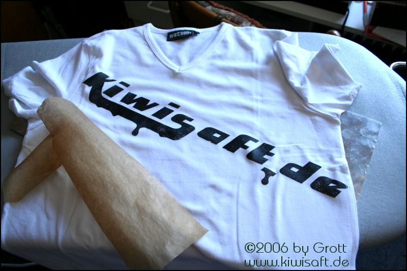 instant t-shirt design with laser printer