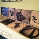 Printed Wooden Panels for Your Home (or how to decorate your house like a nerd)