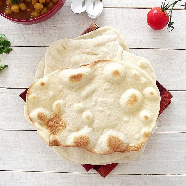 Indian Naan Flat Bread