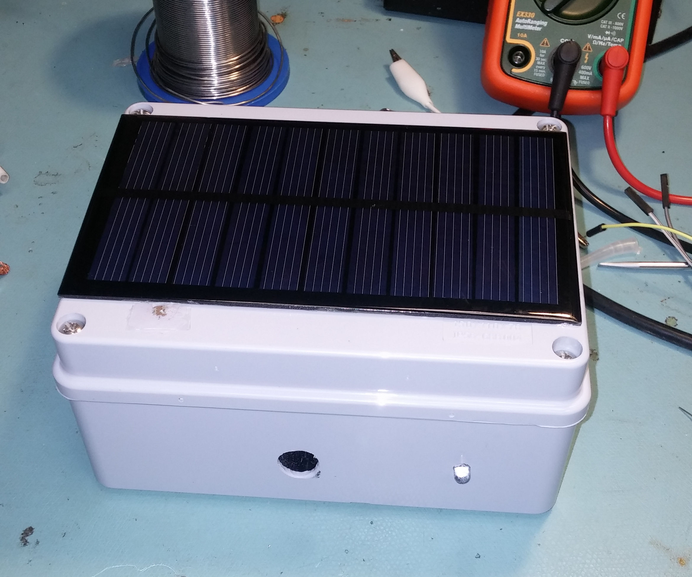NaTaLia Weather Station: Arduino Solar Powered Weather Station Done the Right Way