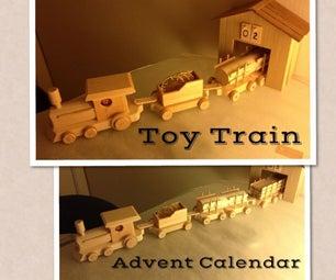 Toy Train Advent Calendar