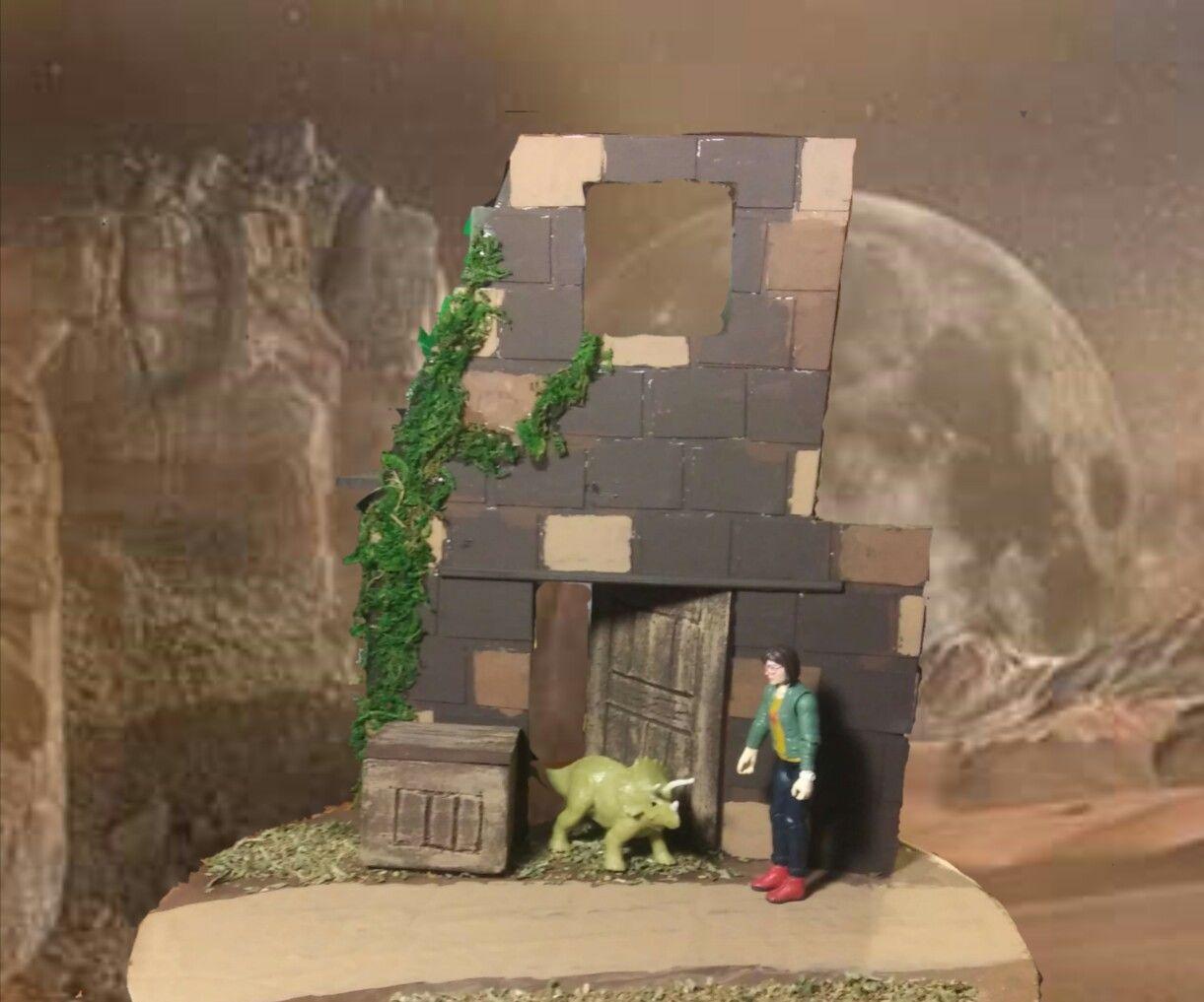 RuinedTower Diorama