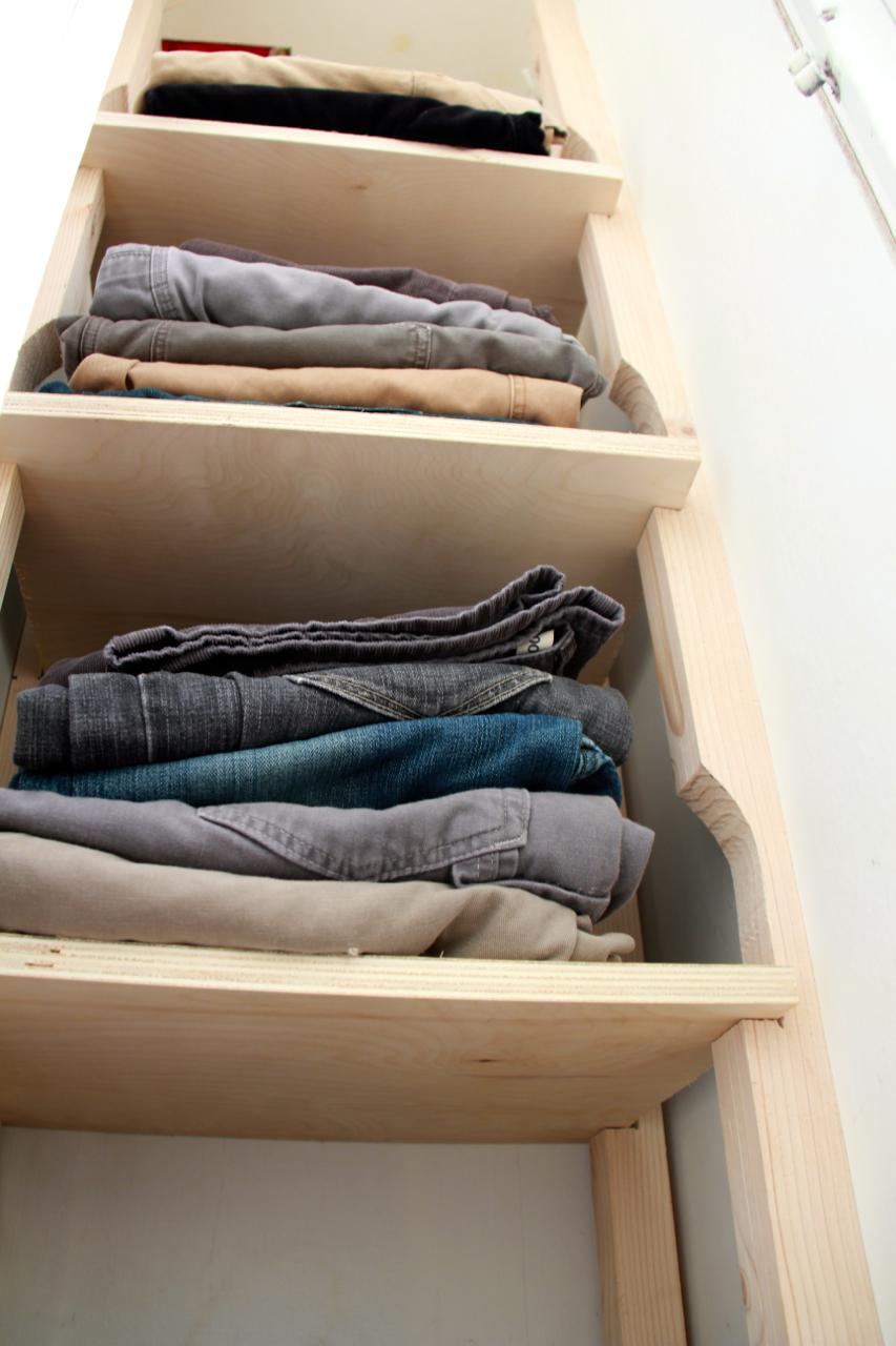 Pressure Fit Screwless Shelves