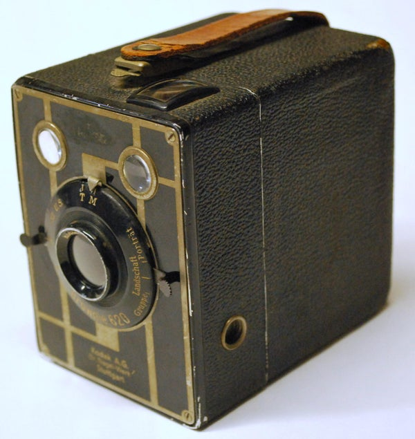 Tripod Adapter for Antique Kodak Box Cameras