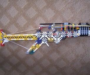 TRUELY Semi-auto Knex Gun