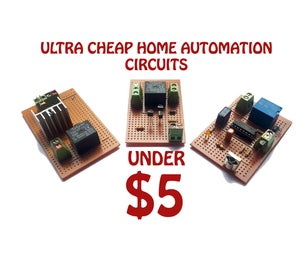 ULTRA CHEEP HOME AUTOMATION UNDER $5