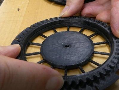 Reel Support Gear