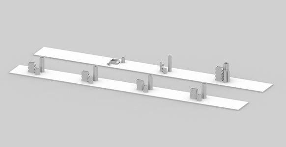 WAVY / TALLI / SMALLI : a Design System Vase Sets