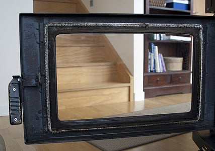 Cleaning Glass on a Woodburner