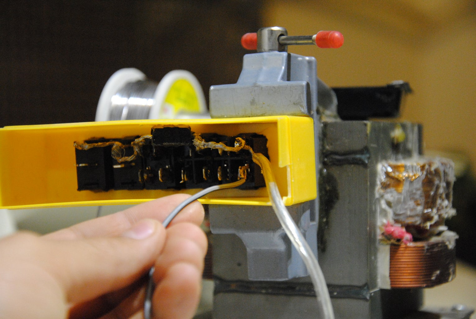 Soldering the LED's (2)