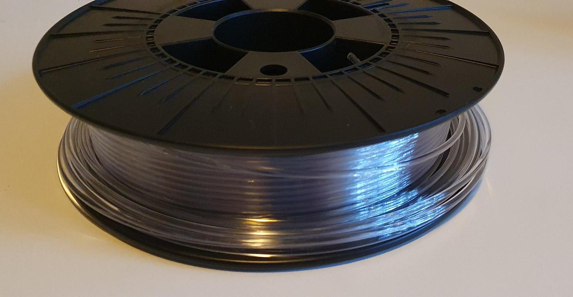 3D Filament As Light Guide
