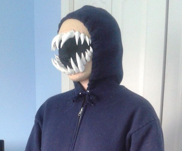 Terrible Teeth Mask for less than $20 -Glasses compatible-