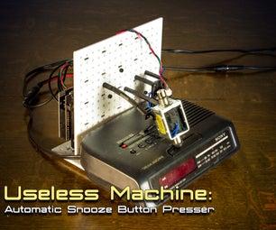 Snoozebot: the Tired, Grumpy Robot (useless Machine)