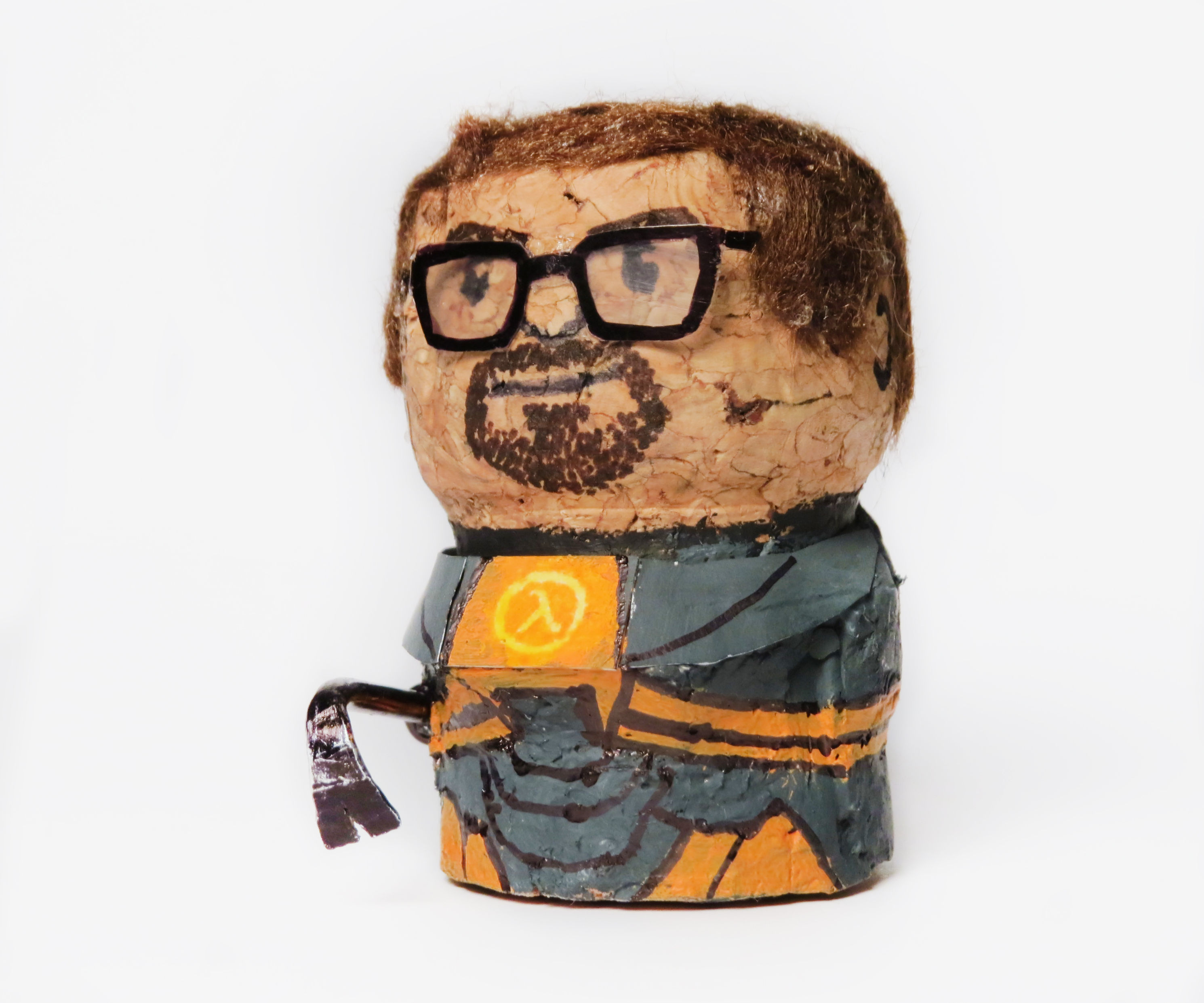 Champagne Cork Gordon Freeman