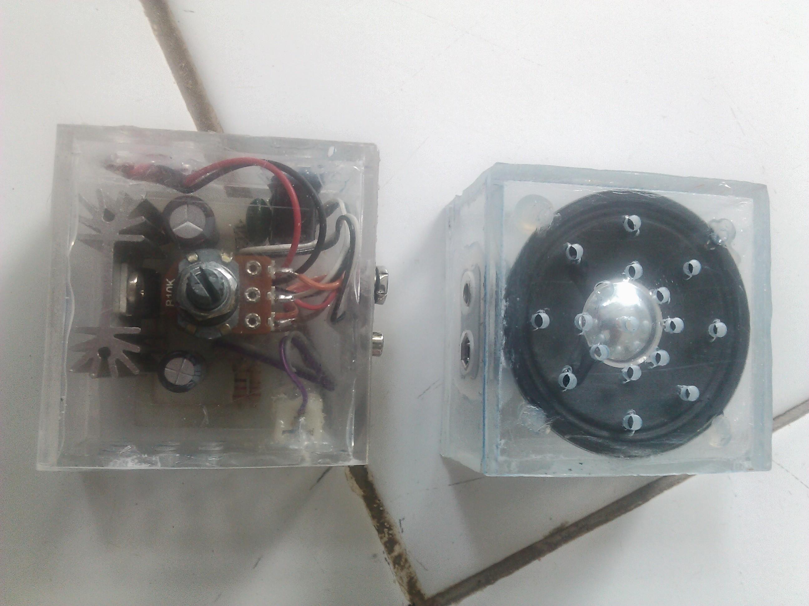 Pocket 10 watt amplifier