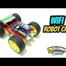 How to Make WiFi Robot Car ESP8266 Nodemcu Wemos