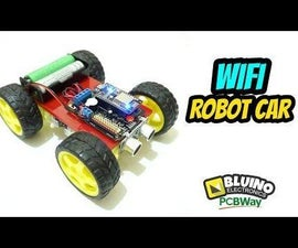 How to Make WiFi Robot Car ESP8266 Nodemcu Wemos