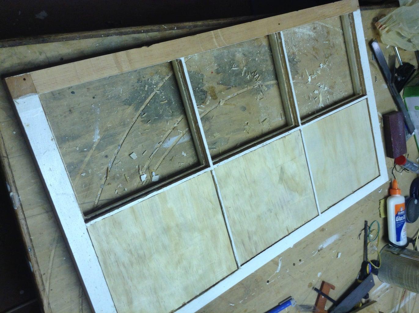 Cut Plywood Backs