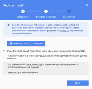 Creating Project in the Google Cloud
