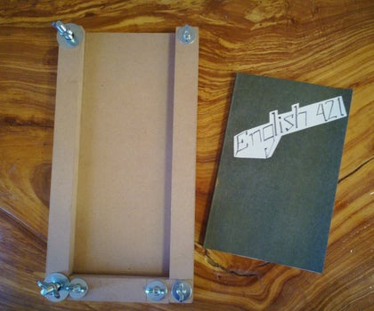How to Manufacture and Use Your Own Book Binding Jig