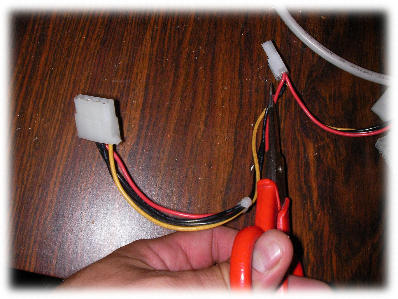 Cutting Unwanted Cables From ATX