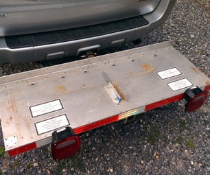 No Weld Aluminum Hitch Basket