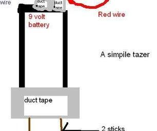 Cheap Battery Tazer