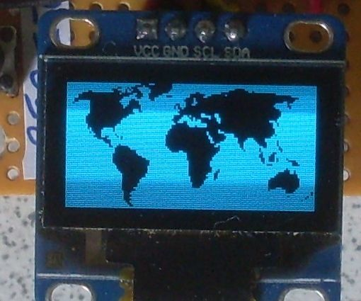 NODEMCU LUA ESP8266 with I2C LCD 128 x 64 OLED Display