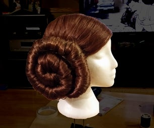 How to Make the Perfect Princess Leia Wig