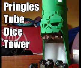 Pringles Tube Dice Tower