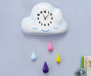 Children's Cloud Clock