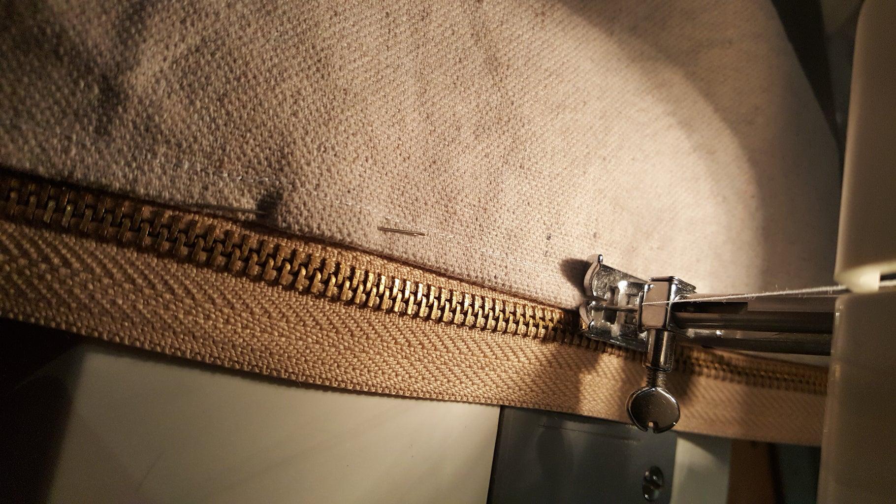 Adding a Zipper