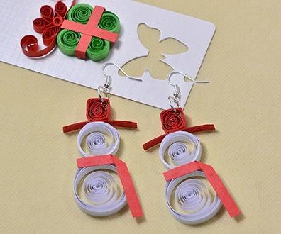 Christmas Earrings DIY - How Do You Make a Pair of Handmade Santa Claus Earrings
